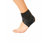 Neoprene Sports Ankle Support Ankle Compression Fixed Support Protective Strap, Specification: Left Foot (Black)