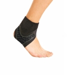 Neoprene Sports Ankle Support Ankle Compression Fixed Support Protective Strap, Specification: Right Foot (Black)