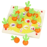 Children Parent-Child Interaction Radish Shape Memory Chess Board Game Educational Toys