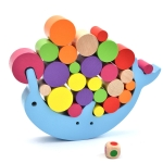 Dolphin Balance Building Block Children Educational Early Education Board Game Toy