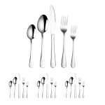 20 in 1 Stainless Steel Cutlery Steak Cutlery Set, Specification: True Color