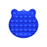 3 PCS Children Mathematical Logic Educational Toys Silicone Pressing Parent-Child Board Game, Style: Blue