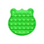 3 PCS Children Mathematical Logic Educational Toys Silicone Pressing Parent-Child Board Game, Style: Green
