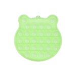 3 PCS Children Mathematical Logic Educational Toys Silicone Pressing Parent-Child Board Game, Style: Luminous Green