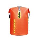 30L Sports Outdoor Rafting Bag Folding Waterproof Backpack(Orange)