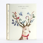 200 Sheets Interstitial Boxed Large Capacity Family Photo Album, Specification: 5 Inch(Elk)