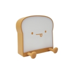 F-L-01 Toast Bread Night Light With Mobile Phone Holder Children Bedroom Timing Sleep Light(Gluttonous)