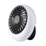 F900 Office Desk Home Student Dormitory Mini USB Round Fan(Black)