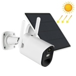 T20 1080P Full HD Solar Powered WiFi Camera, Support Motion Detection, Night Vision, Two Way Audio, TF Card