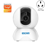 ESCAM TY001 1080P HD WiFi IP Camera, Support Night Vision & Motion Detection & Two Way Audio & TF Card, AU Plug