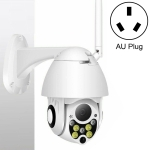 IP-CP05 4G Version Wireless Surveillance Camera HD PTZ Home Security Outdoor Waterproof Network Dome Camera, Support Night Vision & Motion Detection & TF Card, AU Plug