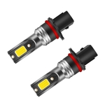 2 PCS EV19 P13W DC9-30V 30W 3000LM 3000K IP68 Car Fog Lights (Gold Light)