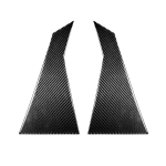 2 PCS Car Carbon Fiber Rear A Pillar Decorative Sticker for Infiniti FX 2009-2013/QX70 2014-, Left and Right Drive Universal