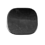 Car Carbon Fiber Fuel Tank Cover Decorative Sticker for Infiniti FX 2009-2013/QX70 2014-, Left and Right Drive Universal