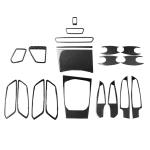 Car Carbon Fiber Full Set Decorative Sticker for BMW 3 Series G20/G28/325Li/330d/335 2019-2020, Right Drive