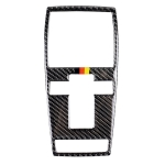 Car Carbon Fiber German Color Reading Light Decorative Sticker for Mercedes-Benz C Clase W204 2007-2013 / E Clase W212 2010-2012, Left and Right Drive Universal
