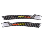 Car Carbon Fiber Rearview Mirror Anti-collision Strip C for Mercedes-Benz A/B/C/E Class/GLK/GLE/GLS/GLA/CLA, Left and Right Drive Universal
