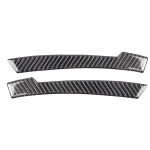 Car Carbon Fiber Rearview Mirror Anti-collision Strip A for Mercedes-Benz A/B/C/E Class/GLK/GLE/GLS/GLA/CLA, Left and Right Drive Universal