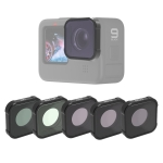 JSR KB Series MCUV+CPL+ND8+ND16+ND32 Lens Filter for GoPro HERO9 Black