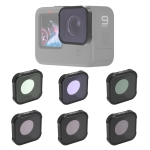 JSR KB Series STAR+CPL+NIGHT+ND8+ND16+ND32 Lens Filter for GoPro HERO9 Black