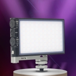 ADAI K10 RGB Full Color Dimmable 2500-8500K On-Camera LED Video Light Photography Fill Light(Black)