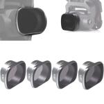 JSR KS 4 in 1 ND4+ND8+ND16+ND32 Lens Filter for DJI FPV, Aluminum Alloy Frame