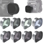 JSR KS 8 in 1 Star+NIGHT+ND8+ND16+ND32+ND64+MCUV+CPL Lens Filter for DJI FPV, Aluminum Alloy Frame