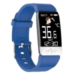 T1S 1.14 inch Screen IP67 Waterproof Smart Bracelet, Support Blood Oxygen Monitoring / Body Temperature Monitoring / Heart Rate Monitoring(Blue)