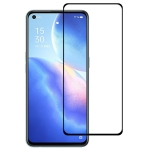 For OPPO Reno5 K Full Glue Full Screen Tempered Glass Film
