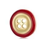 S925 Sterling Silver Button Women Earrings