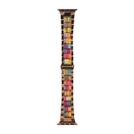 WIWU Resin Watch Band For Apple Watch Series 6 & SE & 5 & 4 44mm / 3 & 2 & 1 42mm(Colorful)