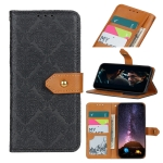 For Motorola Moto Edge S European Floral Embossed Copper Buckle Horizontal Flip PU Leather Case with Holder & Card Slots & Wallet & Photo Frame(Black)