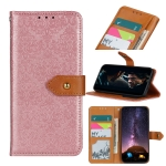 For Nokia 7.3 European Floral Embossed Copper Buckle Horizontal Flip PU Leather Case with Holder & Card Slots & Wallet & Photo Frame(Pink)
