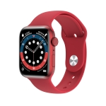 MD58 1.75 inch IPS Screen IP67 Waterproof Smart Watch, Support Bluetooth Music Playback / Sleep Monitoring / Heart Rate Monitoring(Red)