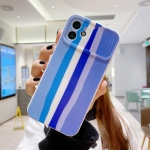Rainbow Sliding Lens Cover Design Shockproof Protective Case For iPhone 11 Pro Max(D)
