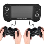 X29 Classic Games Handheld Game Console 5.1 inch Screen & 8GB Memory, with Double GamePad(Black)