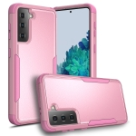 For Samsung Galaxy S21 5G TPU + PC Shockproof Protective Case(Pink)