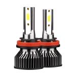 F2 H8 / H9 / H11 2 PCS DC9-36V / 25W / 6000K / 2500LM IP68 Waterproof Car LED Headlight(Cold White Light)