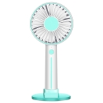 Mirror Portable Handheld Mute USB Small Fan (Blue)