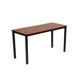 [US Warehouse] Sandalwood Square Modern Desk, Size: 63 inch