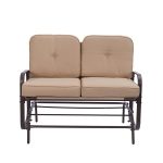 [US Warehouse] Double Sofa with Cushion, Size: 93×118.4x74cm