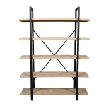 [US Warehouse] Household Storage Rack Book Shelf