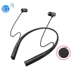 WK V11 IPX6 Waterproof Bluetooth 4.1 Neck-mounted Wireless Sports Bluetooth Earphone (Black)