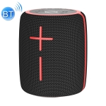 HOPESTAR P25 Portable Outdoor Waterproof Wireless Bluetooth Speaker, Support Hands-free Call & U Disk & TF Card & 3.5mm AUX (Black)