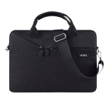 WiWU City Commuter Business Laptop Bag Carrying Handbag for 15.4 inch Laptop(Black)