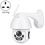 QX1 1080P HD WiFi IP Camera, Support Night Vision & Motion Detection & Two Way Audio & TF Card, UK Plug