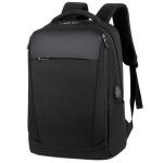 OUMANTU 1116 Nylon Business Casual Shoulders Bag Laptop Backpack (Black)