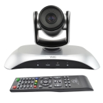 YSNS YS-H110UH USB HD 1080P 10X Zoom Wide-Angle Video Conference Camera with Remote Control (Silver)