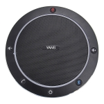 YANS YS-M61Y Video Conference Bluetooth Omnidirectional Microphone(Black)