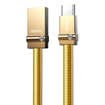 REMAX RC-091a 2.4A USB to USB-C / Type-C Golden Diamond Data Sync Charging Cable, Cable Length: 1m(Gold)